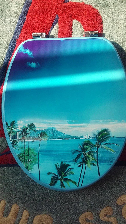 1PC TOILET SEAT W/ISLAND DESIGN TOILET01