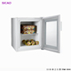 36L Glass Door Counter top Mini Freezer for Ice Cream showcase and Other Drinks in need