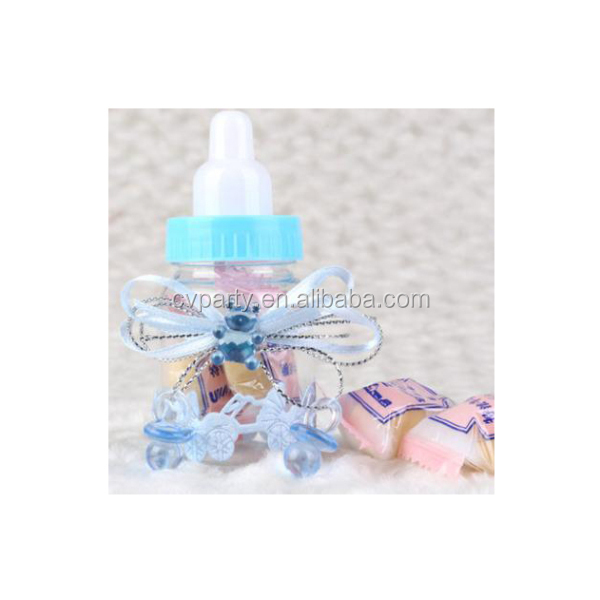 plastic baby bottle favor