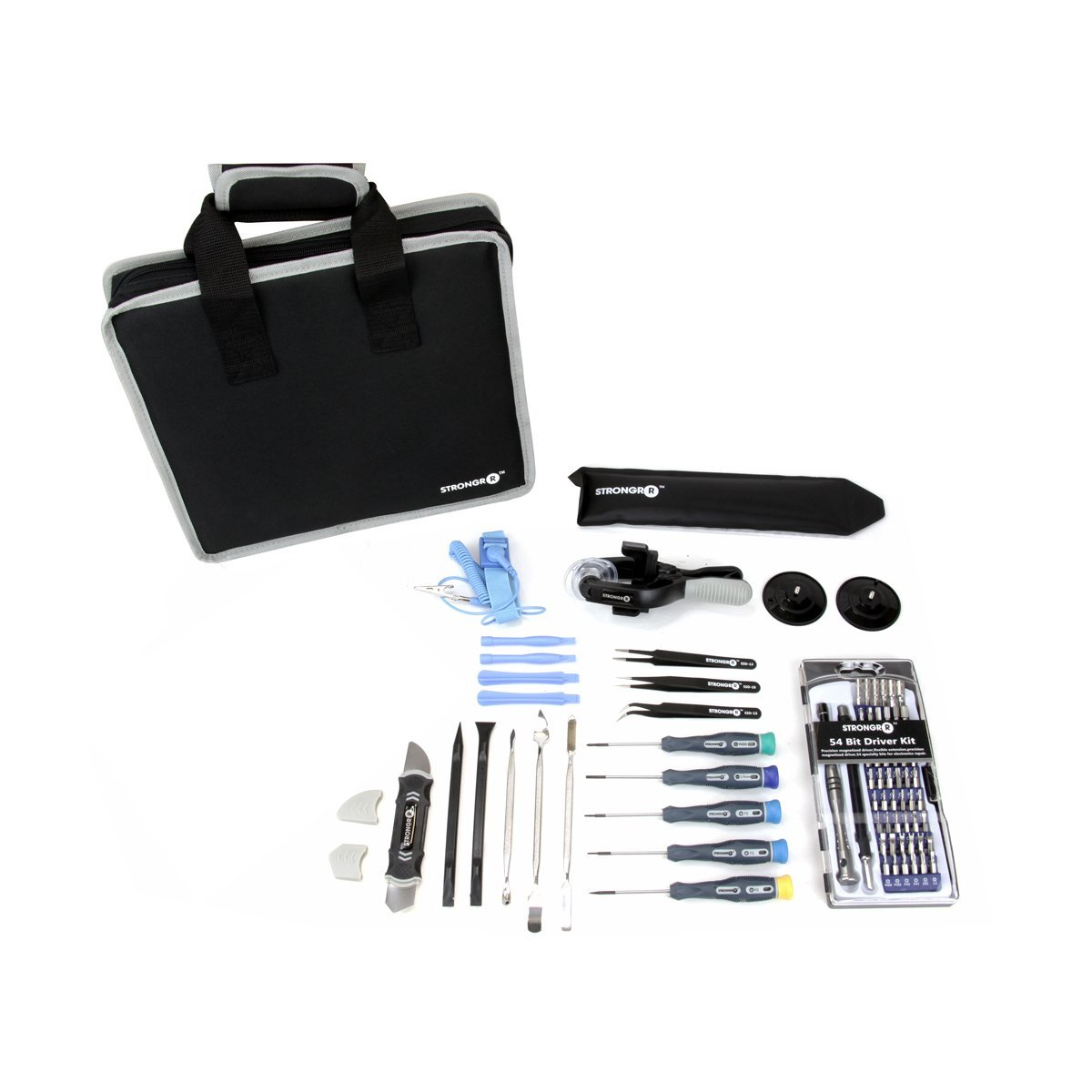 "LB1 High Performance Electronics Complete Professional Precision Disassembly Tool Kit for Repairing HP 15.5"" EliteBook Notebook 4 GB Memory 160 GB Hard Drive Gray HP8530pBC5-0053 Repair Hand Tool Set"