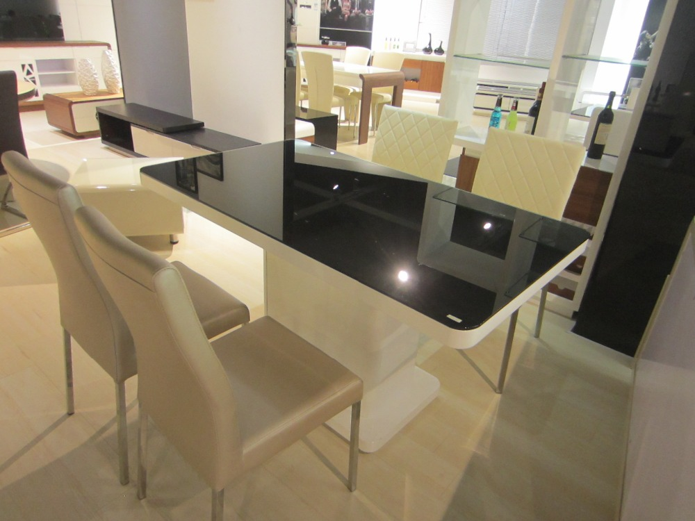 Luxury Dining Set Mdf Dining Table Made In Malaysia Buy