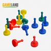 Different Shape Colorful Plastic Game Board Pieces