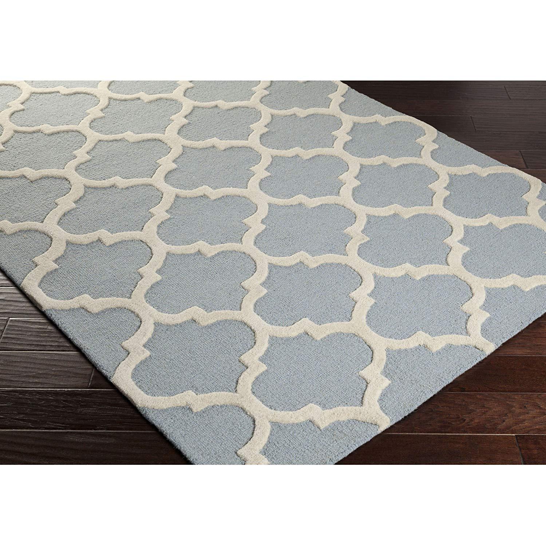 Buy Classic Dark Blue White Moroccan Trellis Polyester