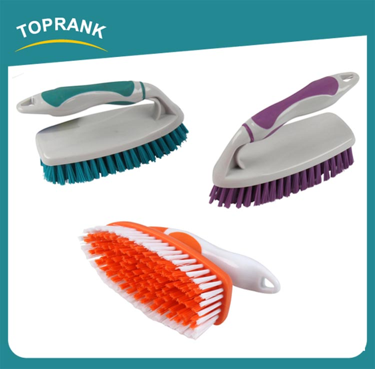 Toprank OEM/ODM Available Eco-Friendly Material Plastic Household Laundry Clothes Cleaning Floor Brush
