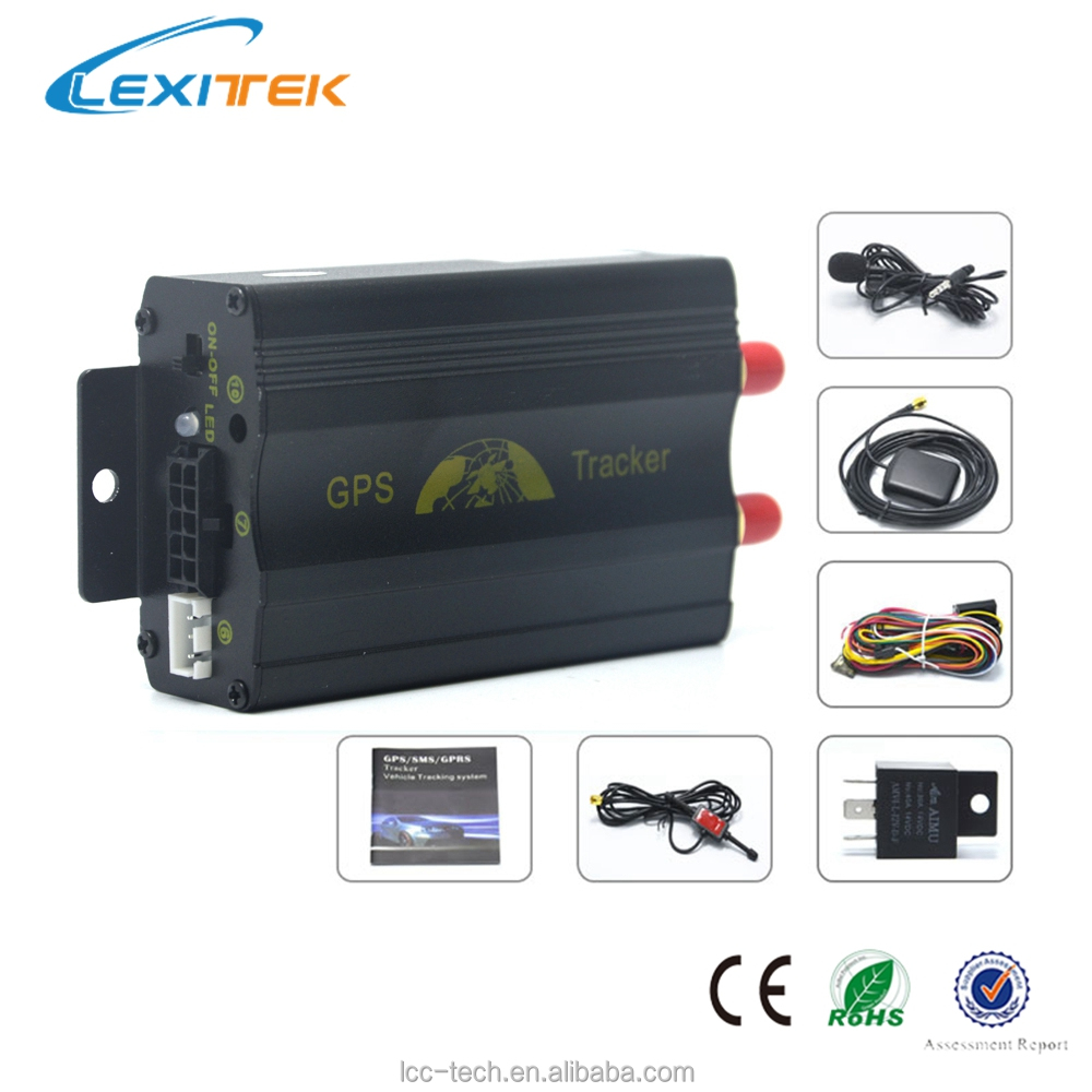 GPS Tracker Data Logger for Fleet Management Vehicle Protection GSM Quad-band Connectivity for Israel