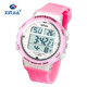 Wristwatch For Lady 50M Water Resistant Sport Unique Watches With Temperature Function Wristwatch LED Backlight Analog Quartz