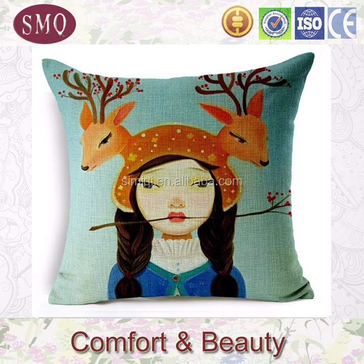 wholesale silk pillow case plain chenille cushion covers pure silk satin pillow case