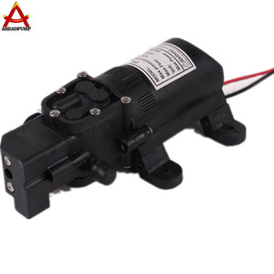 12v 24V 60PSI high pressure Plastic diaphragm pump/water pumping machine with price for car