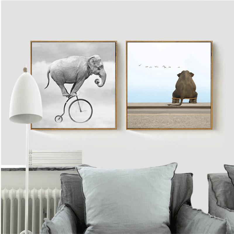 lustige elefanten bilder werbeaktion shop f r werbeaktion lustige elefanten bilder bei. Black Bedroom Furniture Sets. Home Design Ideas