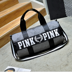 Custom Logo Exercise Fitness Polyester Waterproof Yoga Mat Gym Bag Wholesale Vintage Canvas Duffel Bag Travel Gym Yoga Bag
