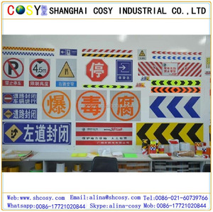 car license plate reflective sheeting / infrared reflective film