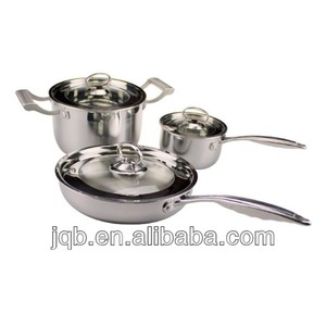 2014 Modern Style Stainless steel 18 8 cookware set