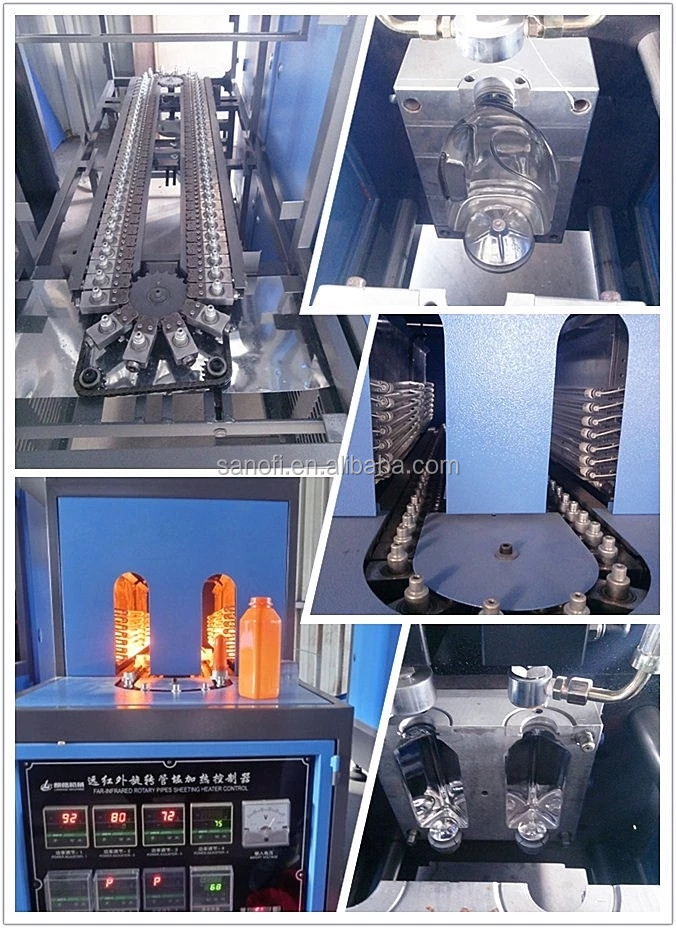 Automatic PET machine for  water/juice/CSD drink bottle blowing