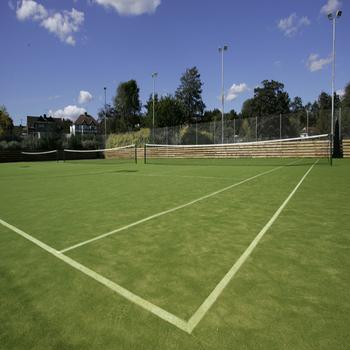 Hot Sell Tennis Court Artificial Grass Tennis Court Surface Red