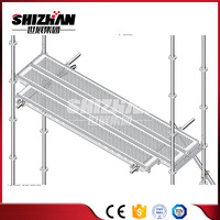 High quality galvanized scaffolding catwalk for sale