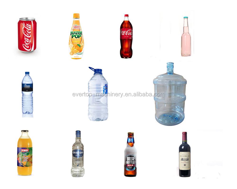 אוטומטי בקבוק מינרלים/טהור קבלת מים/מילוי/ייצור מכונה