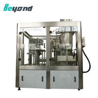 Automatic soda drinking e-liquid filling machine production Line mineral water plant cost
