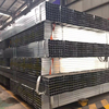 Building material Q195/Q235 hot dipped pre galvanized square structure steel pipe/tube