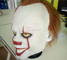 Horror testa Piena Maschera In Lattice <span class=keywords><strong>di</strong></span> Halloween Sanguinosa Pennywise Maschera Da Clown