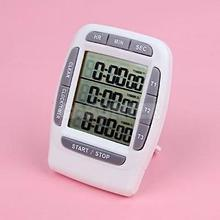 99 H 59 m 59 s sport onderwijs 3 Groep LCD klok <span class=keywords><strong>timer</strong></span>, laboratoria Triple Channel Bench <span class=keywords><strong>Timer</strong></span>