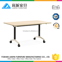 adjustable folding table metal frame office fold away chairs