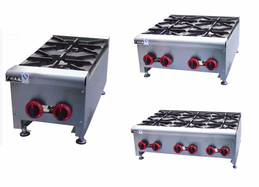 .Hot Selling Table Top Commercial Lpg Gas Burner Cooktops Range Tops