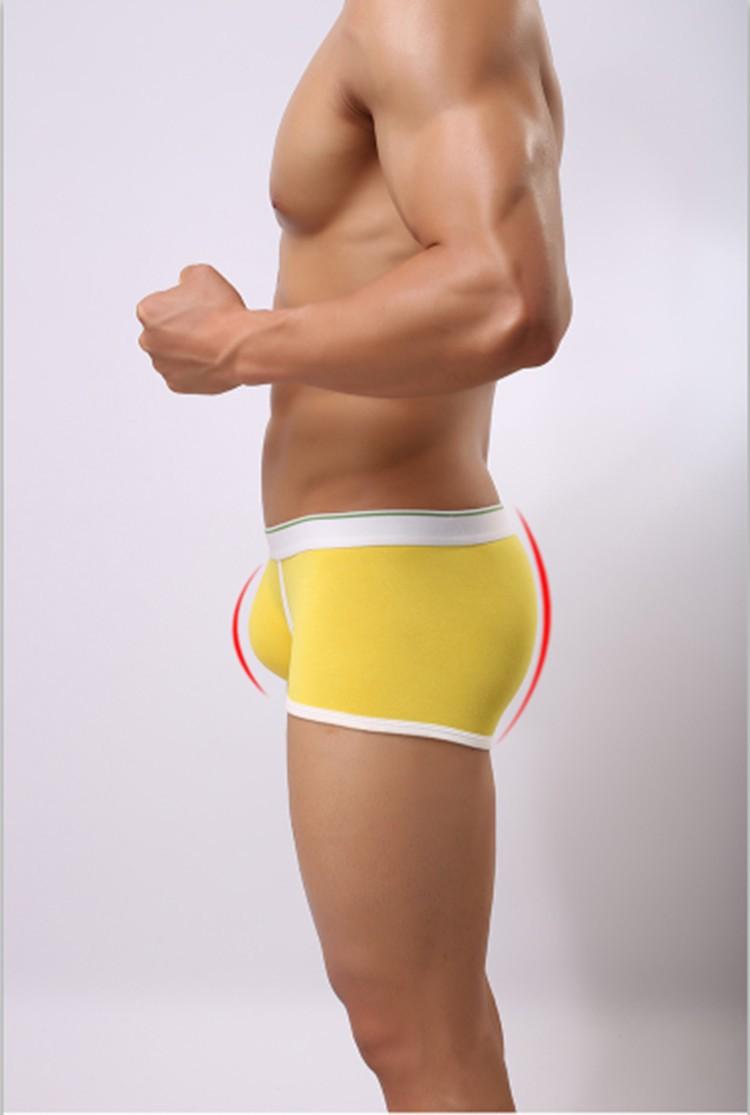 Wholesale Men panties Fashion boxer 4 pcs Casual Men's Underwear ...