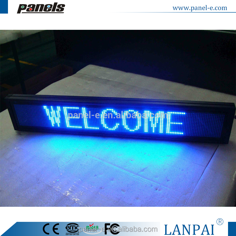 P4.75 led sign xxx moves for indoor use D16128B