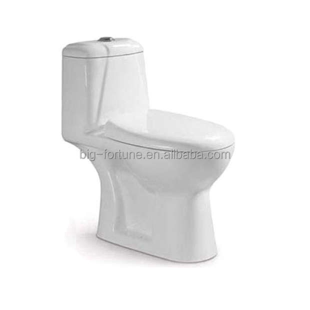 Made In China Elegant Design White Toilet Flush With Seat Cover