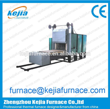 China manufacturer trolley furnace for quenching/ceramic shuttle kiln