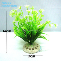 Fish Tank Artificial Plants Artificial Flowers