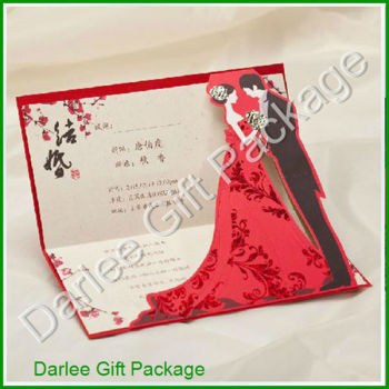 3d wedding invitation card pop up wedding invitation card wedding