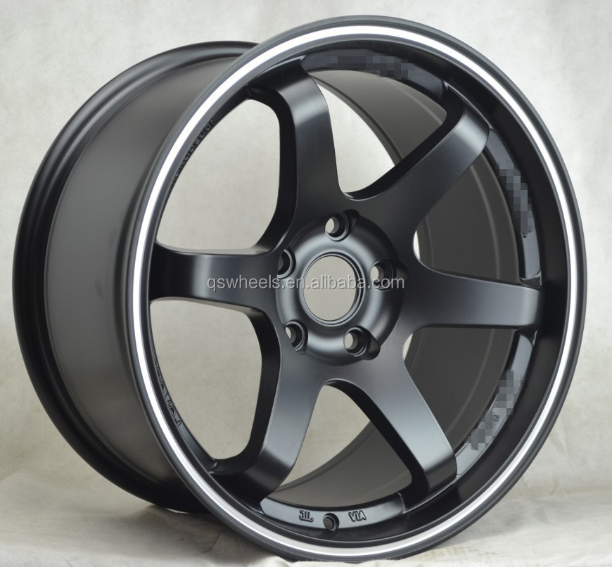 Perfect Car Alloy Wheels 17 Inch 5x114.3 Spoke Wheels New DesignS Sport Rims For  Cars Amazing Pictures