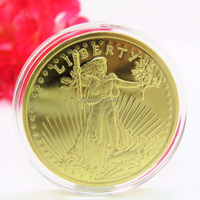 Hot selling gold eagle replica coins American Mint 1933 Gold Double Eagle Greatest US Coin Replica HL30116