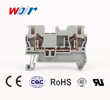 terminal block connector ST2.5 Contact Tension  Feed-Through spring terminal Block WD5-2.5