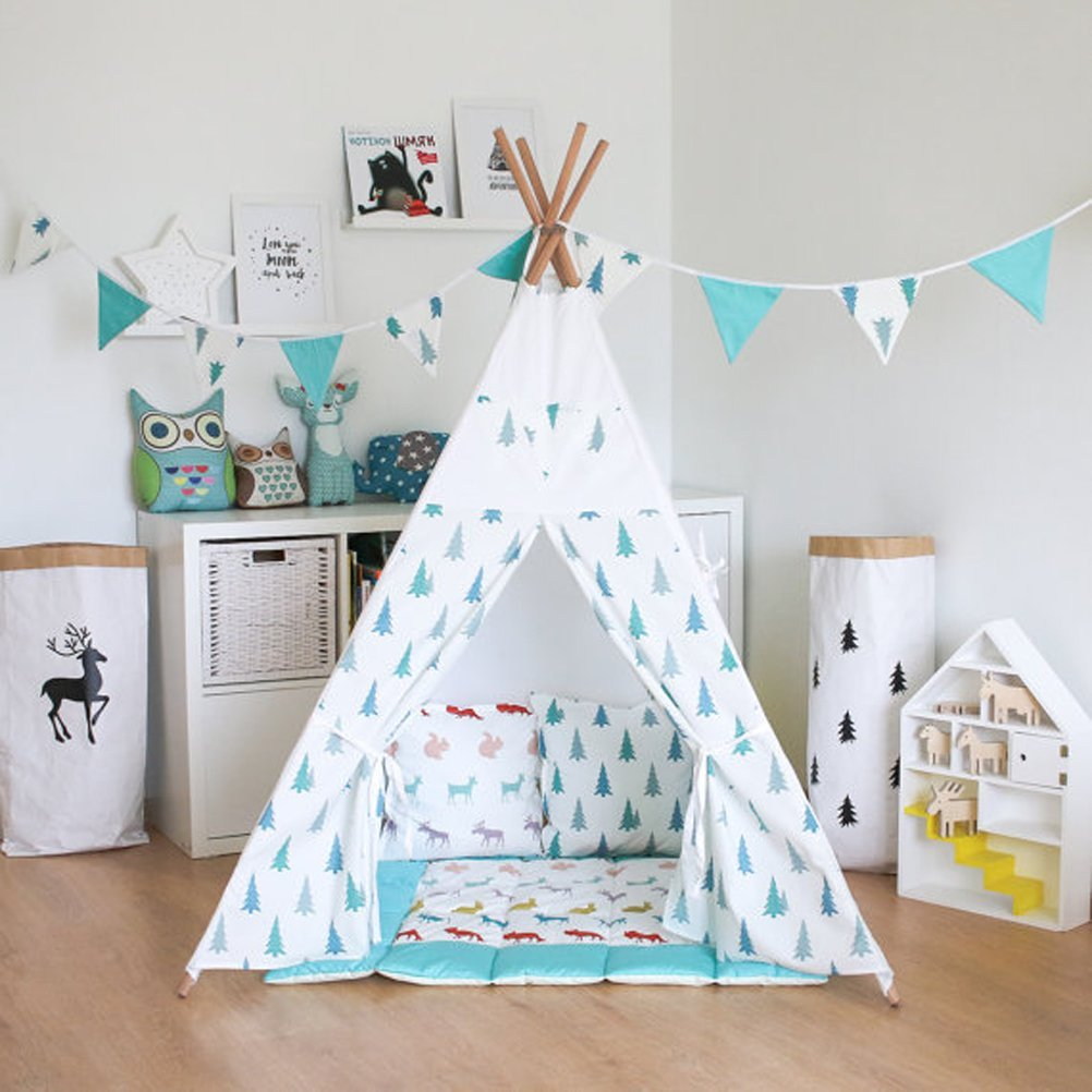 Get Quotations · Fessyc@blue small tree Childrenu0027s Teepee Play tentchildrens teepeekids teepee  sc 1 st  Alibaba & Cheap Best Tipi Tent find Best Tipi Tent deals on line at Alibaba.com