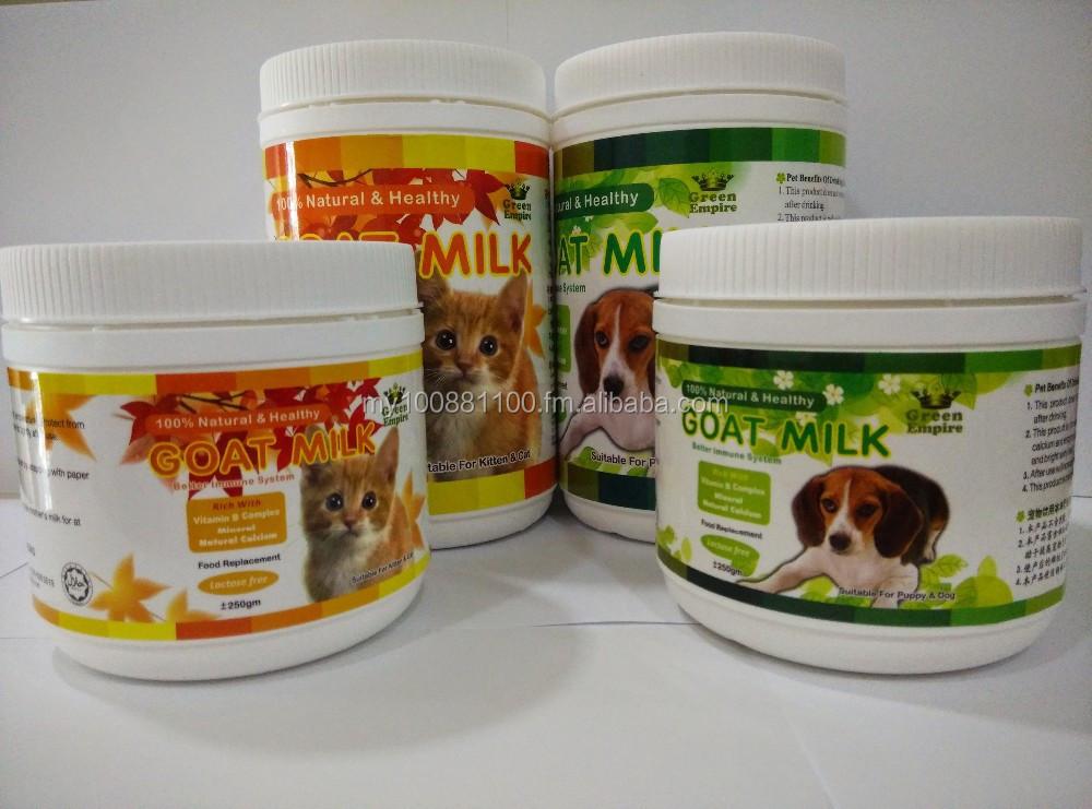 Lait de ch vre en poudre pour chats et chiens autres produits d 39 animal de compagne id de - Produit pour empecher les chiens d uriner ...