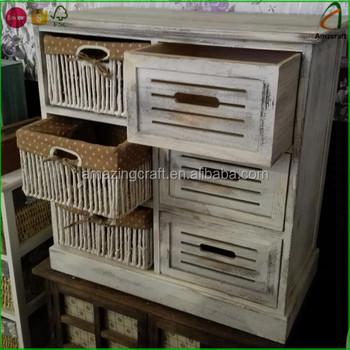 hot verkoop woonkamer kasten shabby chic land stijl houten kleine