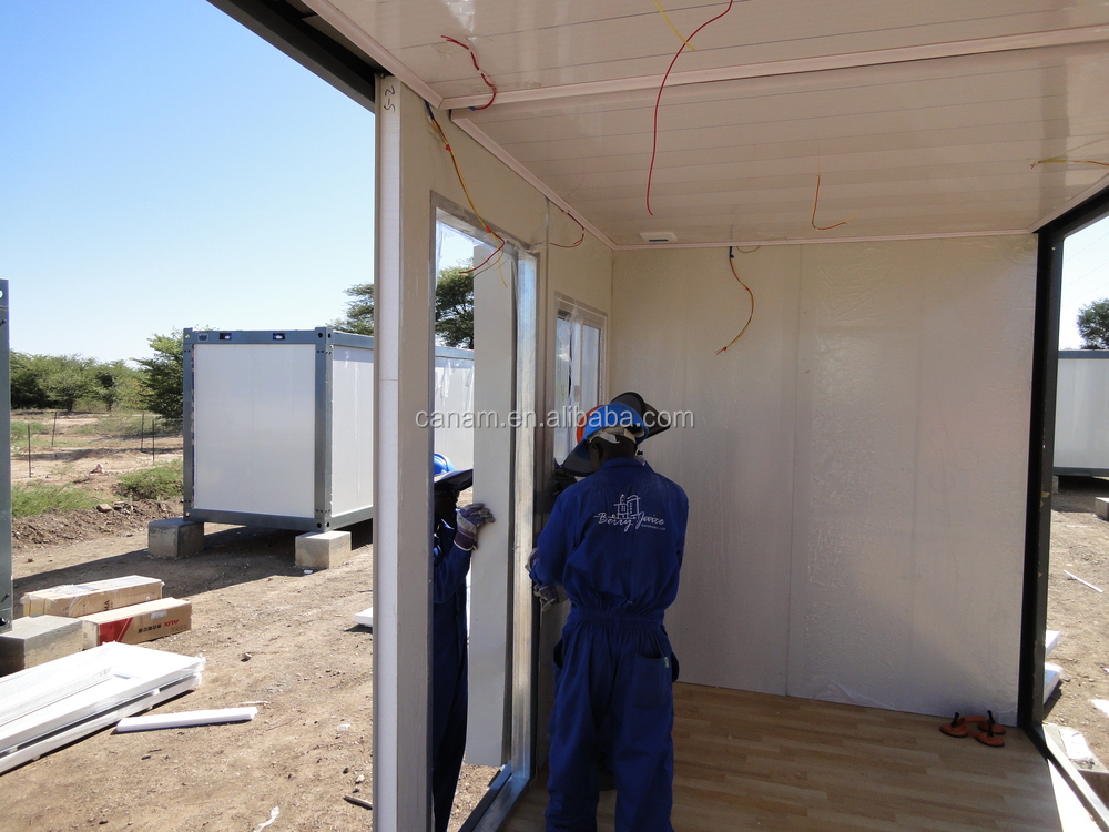 Fast installation flatpack container homes