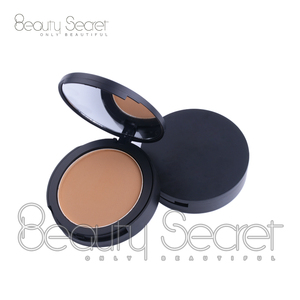 Make Up Face Foundation Oil Control Long-lasting Whitening Pressed Compact Powder With Muff