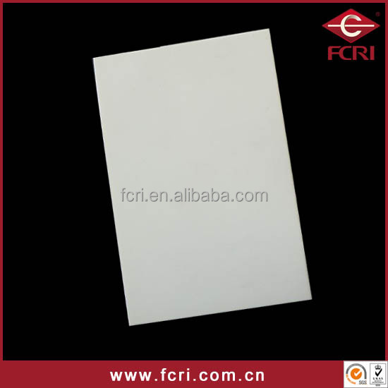 high quality ceramic alumina sheet / board /plate