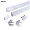 high quality CE approved warm white 85-265v 4ft 1200mm t8 glass led tube 18w