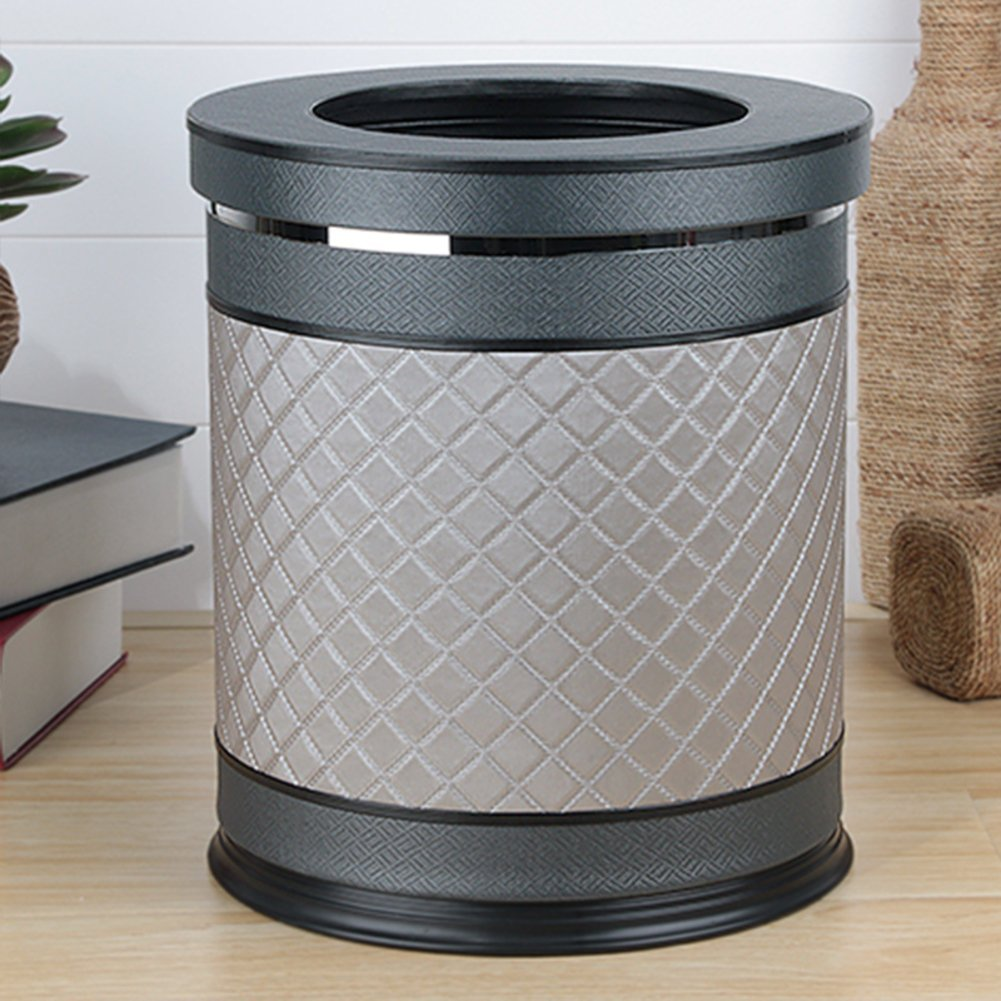 European-style household living room trash can/Kitchen bathroom trash/Creative simplicity trash-V