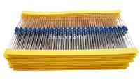 Best Price 100pcs resistor pack 47k ohm 1/4W 47k Metal Film Resistor 47kohm 0.25W 1% For Starter Kit