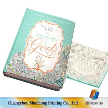 Pequeño Moq Hardcover Creative Papel Biblia Libros Para Colorear ...