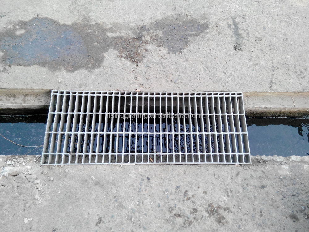 Grate Drain Steel Grating Drain Cover Outdoor Drain Cover