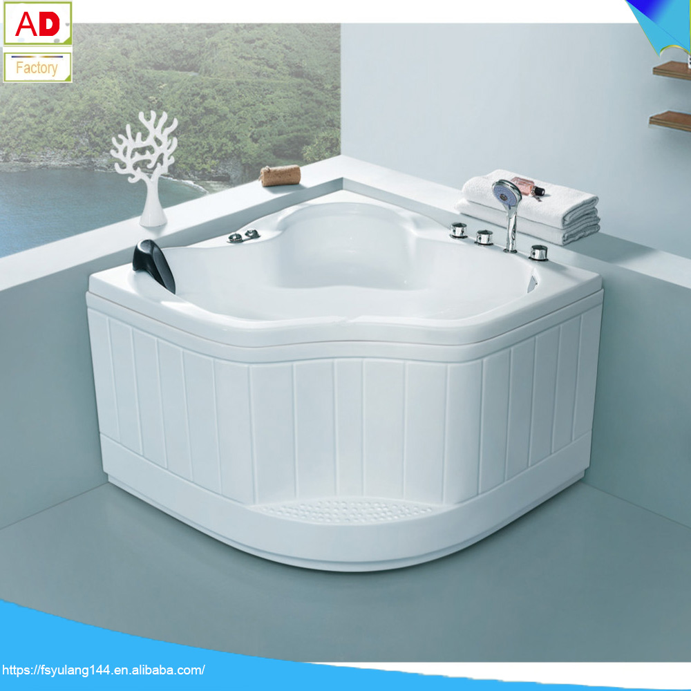 Ad-105a Foshan Bathtub Manufacturer Acrylic Triangle Bath Tubs ...