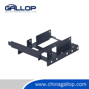 "Good Design Metal HDD Mounting Kit Support 2x 2.5"" HDD and a 3.5"" HDD on rear panel HHD Mounting Bracket"