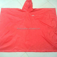 Reusable plastic raincoat for outdoor activity/travel/camping
