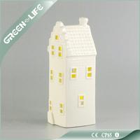 Porcelain Candle Holder, White Tea Light Candle Holder for Table Decoration